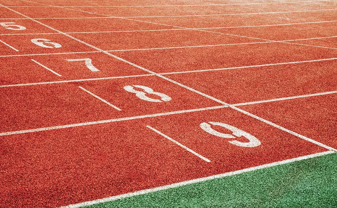 400 m de piste, à parcourir jusqu'à plus soif