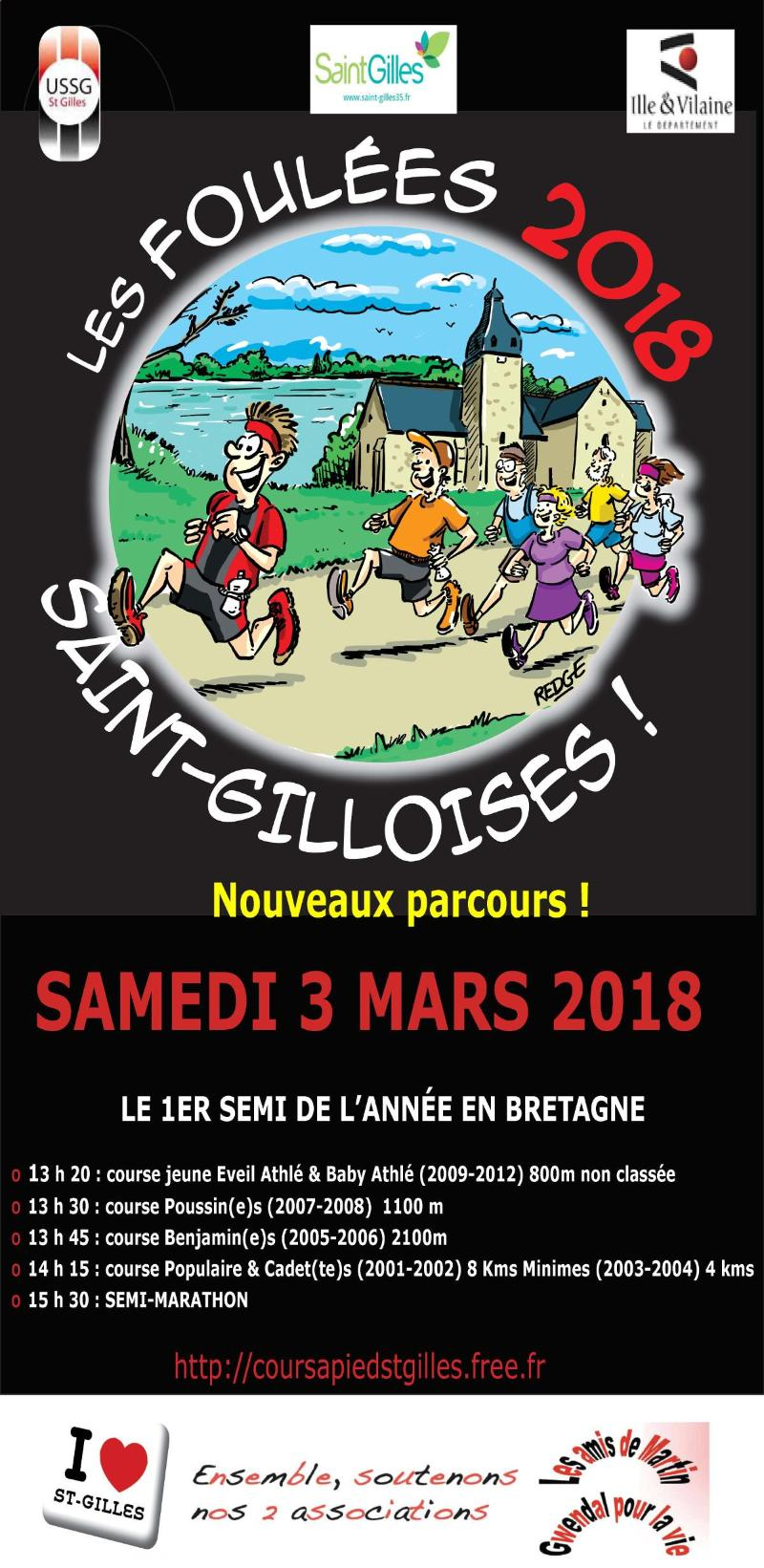 Affiche-des-foulees-St-Gilloises2018